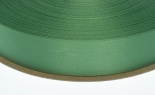 #5 Plain Satin Holiday Green