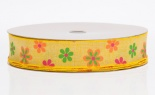 #9 We Linen Spring Flowers Yellow