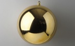 400mm Vp Plast Display Ball Shiny Gold