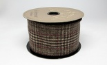 #40 We Glen Plaid Brown Burgundy 10 Yd