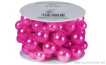 13' Mega Beaded Wire Strong Pink