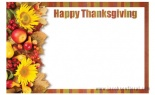 Enclosure Card Thanksgiving
