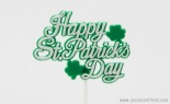 Happy St Pats Shamrock Pic