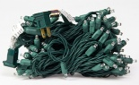 Led 100lt Commercial Grade Green Cord Warm White