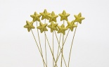 50mm Glit Star Gold