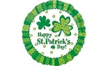 Foil St Patricks Day Lucky Wishes