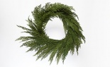 Soft Cedar Wreath Green